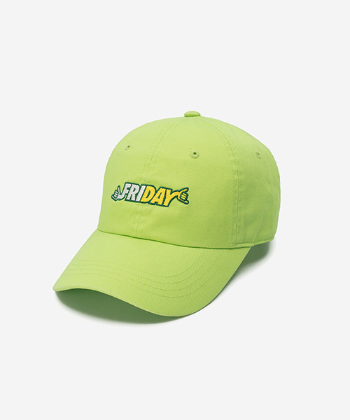 FRIDAY Washed Ball Cap Lt.green