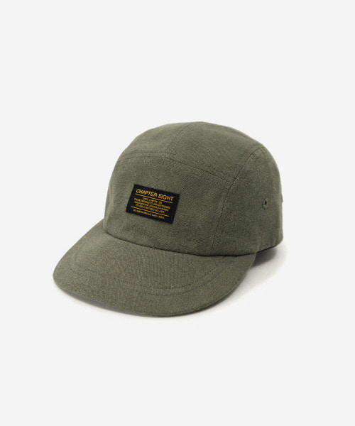 Kids Soft Cotton Camp Cap Olive [52cm]