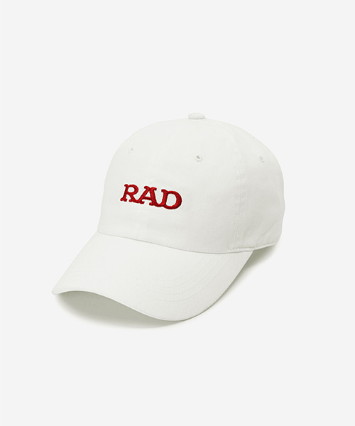 RAD Washed Ball Cap White