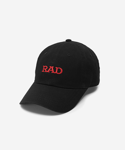 RAD Washed Ball Cap Black