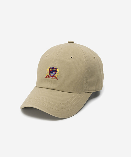 EMBLEM Washed Ball Cap Beige