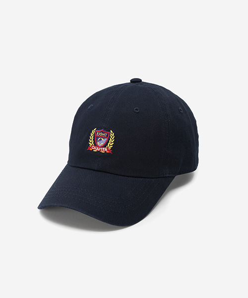 EMBLEM Washed Ball Cap Navy