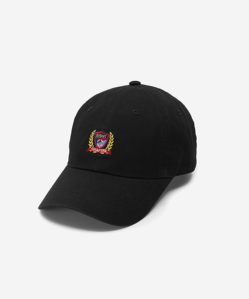 EMBLEM Washed Ball Cap Black