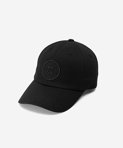 Circle Logo Cap Black