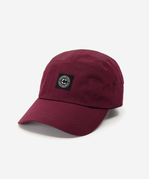 Rip Nylon Camp Cap Wine