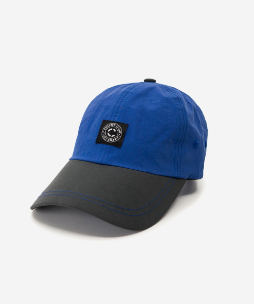 2-Tone Nylon Cap Blue