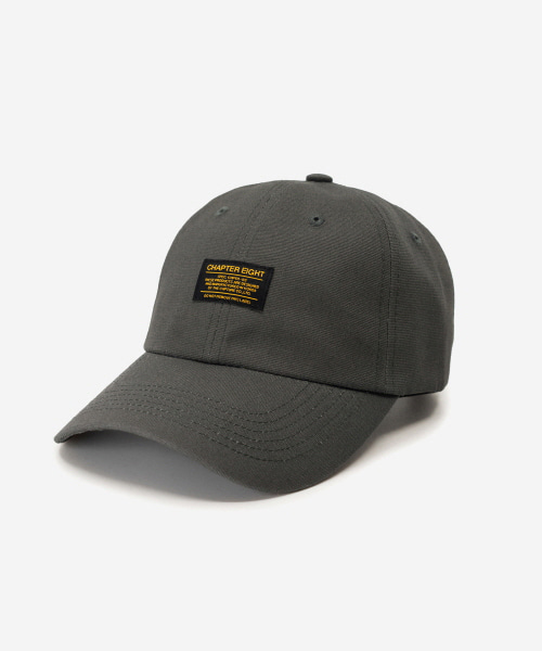 Oxford Cotton Cap Charcoal