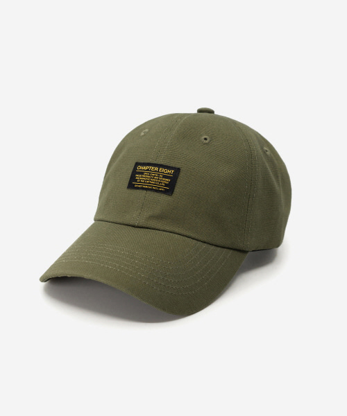 Oxford Cotton Cap Khaki
