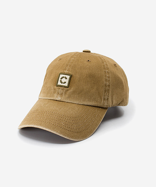 Stone Washed Cap Beige