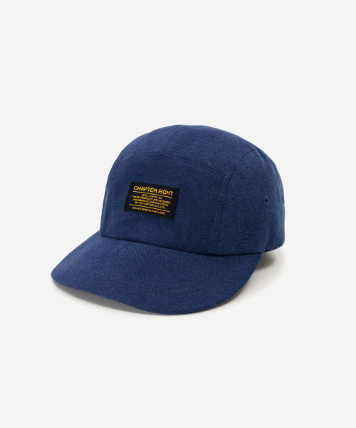 Kids Soft Cotton Camp Cap Navy [52cm]