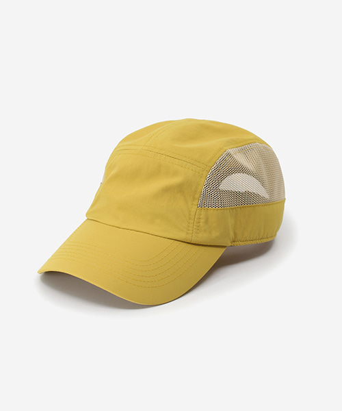 Light Mesh Camp Cap Mustard