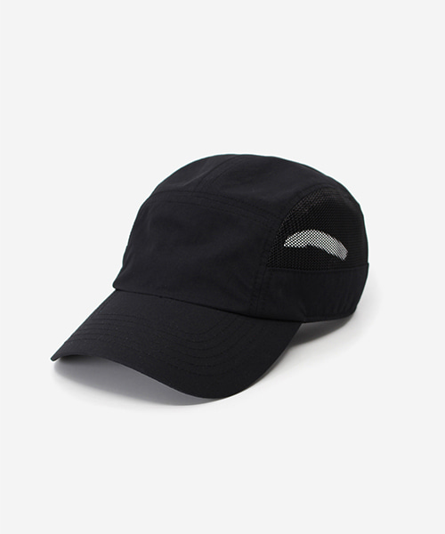 Light Mesh Camp Cap Black