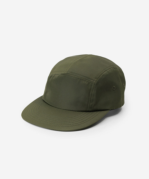 Big Sized Camp Cap Nylon Twill Khaki