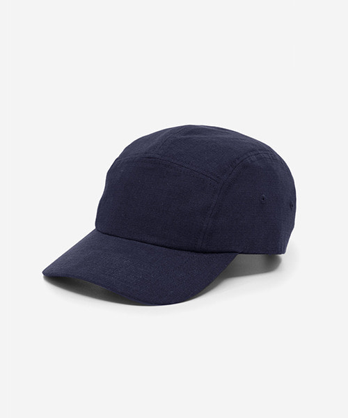 Big Sized Camp Cap Cotton Ripstop Navy