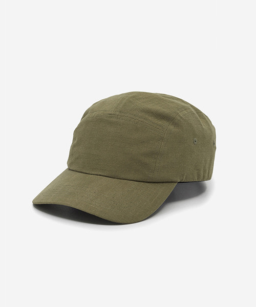 Big Sized Camp Cap Cotton Ripstop Khaki